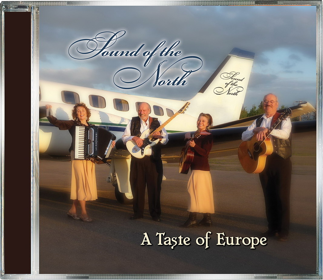 CD A Taste of Europe SOUND OF THE NORTH